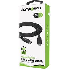 Charge Worx Cable USB-C a USB-C