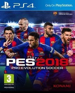 Juego PS4, Pro Evolution Soccer 2018
