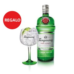 Tanqueray London Dry Gin 1 lt - Regalo: 1 Copa