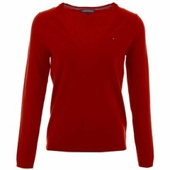 Tommy Hilfiger Sweater de mujer New Ivy V-Neck
