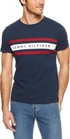 Tommy Hilfiger Remera de hombre Logo Band Graphic