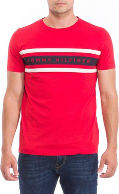 Tommy Hilfiger Remera manga larga de hombre Logo Band Graphic - Duty Free Shop Atlántico Sur