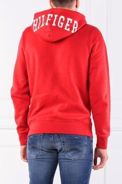 Tommy Hilfiger Campera con capucha de hombre Hilfiger Hooded Zip Through - tienda online