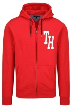 Imagen de Tommy Hilfiger Campera con capucha de hombre Hilfiger Hooded Zip Through