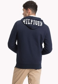 Tommy Hilfiger Campera con capucha de hombre Hilfiger Hooded Zip Through en internet