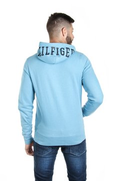 Tommy Hilfiger Campera con capucha de hombre Hilfiger Hooded Zip Through - comprar online