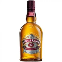 Chivas Regal 12 Años whisky 1 lt.
