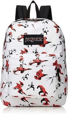 Jansport, Mochila modelo Increíbles Superbreak Mr. Incredible