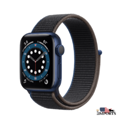 Apple Watch Series 6 - Caixa Azul - Sport Loop - comprar online