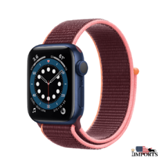 Apple Watch Series 6 - Caixa Azul - Sport Loop - Boss Imports: Produtos Apple, Smartwatch, Minoxidil e Boutique de luxo.
