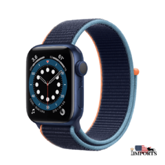 Apple Watch Series 6 - Caixa Azul - Sport Loop - loja online