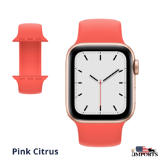 Apple Watch Series SE - Caixa Dourada - Solo Loop - comprar online