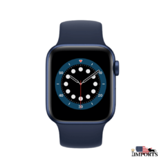 Apple Watch Series 6 - Caixa Azul - Solo Loop