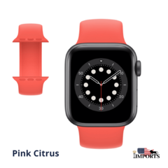 Apple Watch Series SE - Caixa Cinza Espacial - Solo Loop na internet