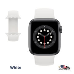 Apple Watch Series SE - Caixa Cinza Espacial - Solo Loop - Boss Imports: Produtos Apple, Smartwatch, Minoxidil e Boutique de luxo.