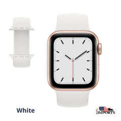 Apple Watch Series SE - Caixa Dourada - Solo Loop - loja online