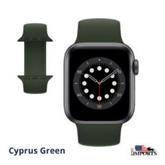 Imagem do Apple Watch Series SE - Caixa Cinza Espacial - Solo Loop