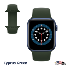 Apple Watch Series 6 - Caixa Azul - Solo Loop - loja online