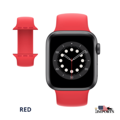 Apple Watch Series SE - Caixa Cinza Espacial - Solo Loop - comprar online