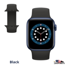 Apple Watch Series 6 - Caixa Azul - Solo Loop - comprar online