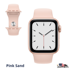 Apple Watch Series SE - Caixa Dourada - Sport Band - comprar online