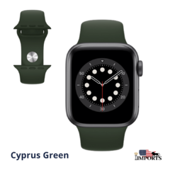 Apple Watch Series 6 - Caixa Cinza Espacial - Sport Band - comprar online