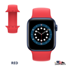 Apple Watch Series 6 - Caixa Azul - Solo Loop na internet