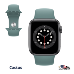 Apple Watch Series 6 - Caixa Cinza Espacial - Sport Band na internet