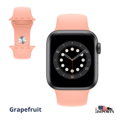 Apple Watch Series 6 - Caixa Cinza Espacial - Sport Band - Boss Imports: Produtos Apple, Smartwatch, Minoxidil e Boutique de luxo.