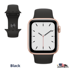Imagem do Apple Watch Series SE - Caixa Dourada - Sport Band