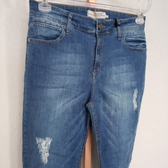 CALCA JEANS BARRA DIFERENC - D1 Look