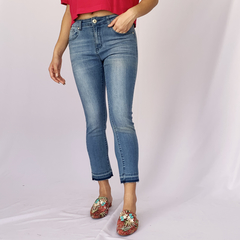CALCA SKINNY CROPPED BARR - D1 Look