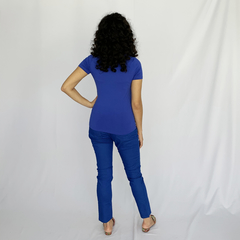 CALCA SARJA BASIC AZUL - D1 Look