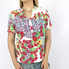 BLUSA ESTAMPADA TK1 - D1 Look