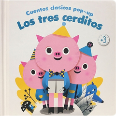 Cuentos clásicos pop-up: Los tres cerditos