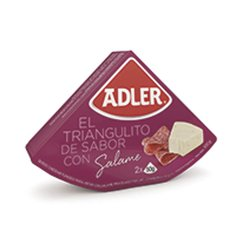 Queso untable sabor salame Adler