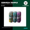 Six pack Temple latas x 473 cc