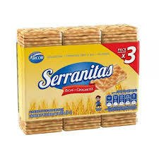 Galletitas Serranitas pack x 3