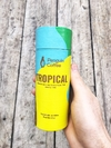 Te en hebras tropical