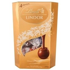 Chocolate Lindor Smooth Sortido Lindt 200g