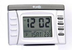 Reloj Despertador Digital Paddle Watch P90008 Luz Temperatura Calendario (121043)