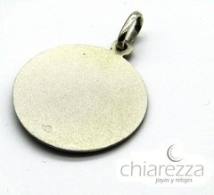 Medalla San Judas Tadeo 18mm Plata 925 - Chiarezza