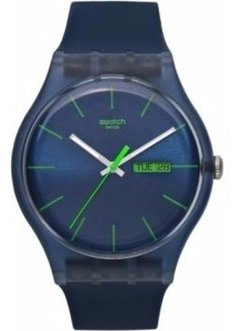 Reloj Swatch Unisex Suon700 Blue Rebel Ag. Oficial