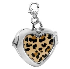 Dije Monona Plata 925 Corazon Animal  Ref 177