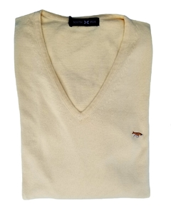 Sweater Escote V Hilo Fino