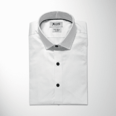 Camisa TYRION Slim Fit, Blanca lisa en internet
