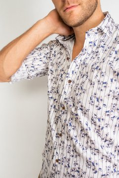 Camisa HANS Slim Fit Blanco en internet