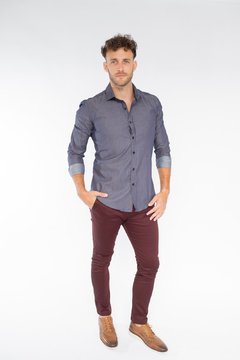 Camisa GREEF Slim Fit Rojo en internet