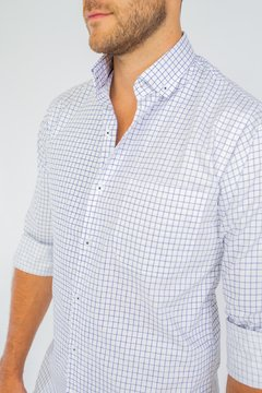 Camisa WILLIAM, corte Regular Azul