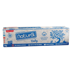 GEL DENTAL SUAVETEX NATURAL BABY C/EXTRATOS DE BANANA, CAMOMILA E ERVA CIDREIRA 50g